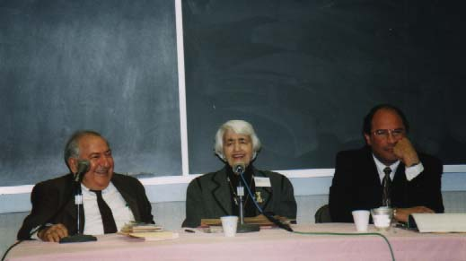 Left to Right: Aram Kevorkian, Roxie Moradian, Hank Saroyan