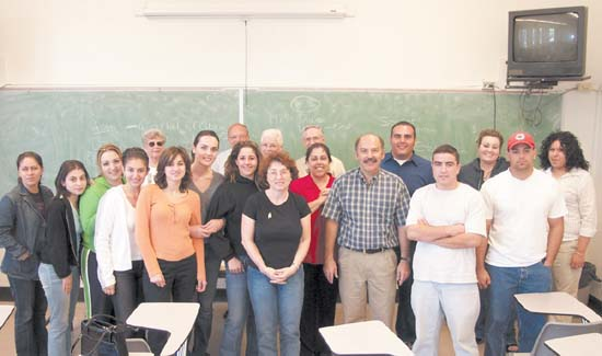 The Armenian Church weekend class at Fresno State.