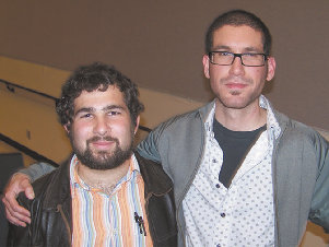 Directors Christopher Sheklian, left, and Hrag Yedalian
