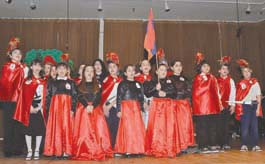 Students of the Keyan Armenian Community School. Photo: Alain Ekmalian