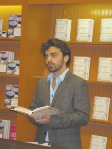 Garin Hovannisian at Barnes and Noble Bookstore Photo: Barlow Der Mugrdechian