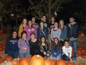 """ASO members traveled to Hobb's Grove """"Halloween Haunt"""" in Sanger for some scary fun."""