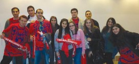 ASO members demonstrated their school spirit by attending a Fresno State men's basketball game.  Photo: ASP Archive
