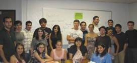 L. to R.: ASO members gather at the first meeting of the year.  Photo: Barlow Der Mugrdechian