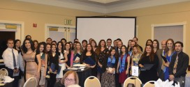 Students receiving a Minor in Armenian Studies and those receiving a scholarship were recognized at the Banquet.