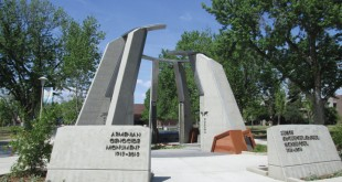 The Armenian Genocide Monument at Fresno State. Photo: ASP Archive