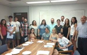 ASO members at the first general meeting of the year. Photo: Aramayis Orkusyan