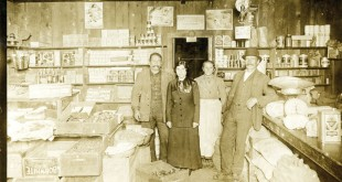 Dry-goods store, interior, Shapazian Collection, ASP Archives.  Photo: ASP Archive