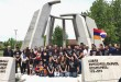 The Armenian Students Organization commemorated the Armenian Genocide on Monday, April 24. Photo: Raffi Mouradian