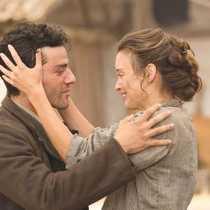 """The Promise"" stars Oscar Isaac and Charlotte Le Bon."