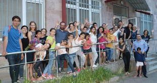 Armenia Summer Study participants enjoyed several visits to Mer Hooys-House of Hope in Yerevan. Photo: ASP Archive