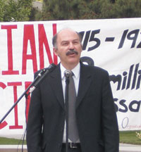 Barlow Der Mugrdechian of the Armenian Studies Program.