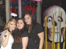 L. to R: Gayane Frnsyan, Karine Frnzyan, and Lena Koujaoghlanian