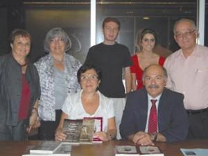 Dr. Rita Kuyumjian, seated center. Photo: Erica Magarian