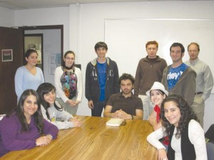 ASO members had the opportunity to meet author Garian Hovannisian. Photo: Barlow Der Mugrdechian