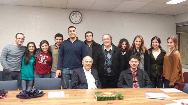 Dr  Sanjian Discusses Armenian Communities of Middle East – Hye